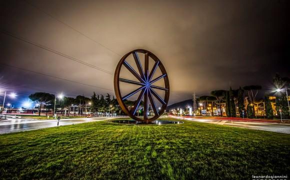 La ruota gigante di Calenzano